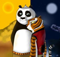 PO and Tigress Together! by BTDN45