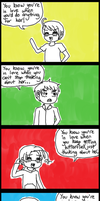 [COMIC] You Know You're In Love When by melondramatics