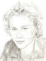 heath ledger young by bcstroud