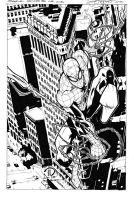 Superior Spiderman inks by JoeyVazquez