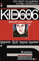 kid606 poster by reactionarypdx