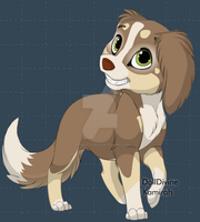 Dog adopt 03 OPEN by TranquilityBlue