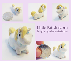 Little Fat Unicorn - SOLD by Bittythings
