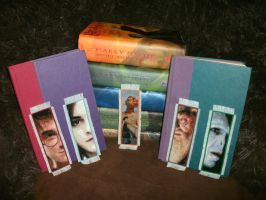 Harry Potter Bookmarks Completed 2 by OronoStitcher
