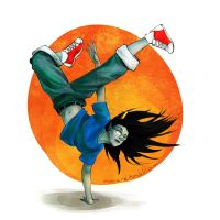 b-girl by mimetic-heresy