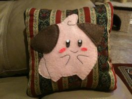 Cleffa Pillow by HikaruisAves