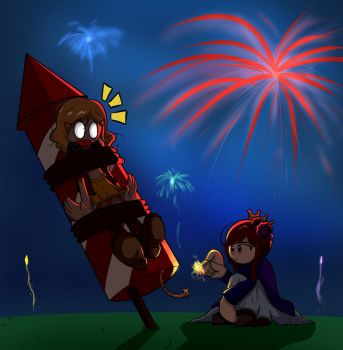 Hetalia 4th of July (REQUEST) by Warlic217