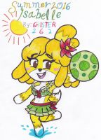Summer 2016: Isabelle by gilster262