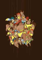 Rappelling Gang by DesignByHumans