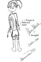 Hand-Drawing Montage Claire by STARSMember930