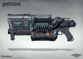 Wolfenstein: The New Order - Laserkraftwerk by torvenius