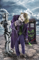 Joker Cyberman Tardis by PZNS