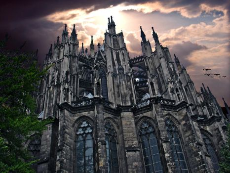Dome of Cologne by Floridel