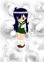 Kagome-chibi by SkullDead