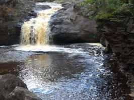 Another Duluth Waterfall by DemonRed6