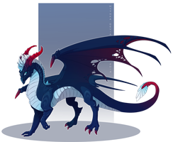 Dragon Design Commission by Mythka