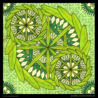 Fresh Feeling Mandala by Quaddles-Roost