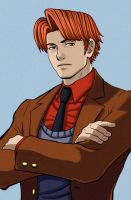Victor Basil Ace Attorney by Valaquia