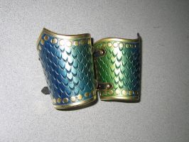 Leather Cuffs by Azmal