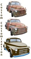 custom truck by barnfinds