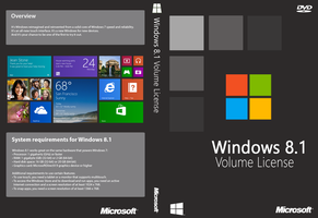 Windows 8.1 Volume License Cover (Unofficial) by joostiphone