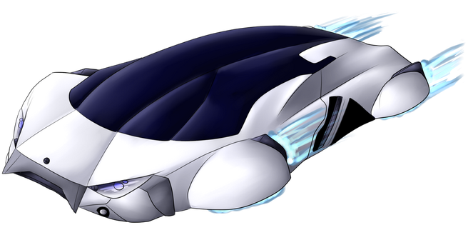Flying Car Concept by Lyokion