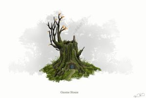 Gnome Stump by DanielHurd