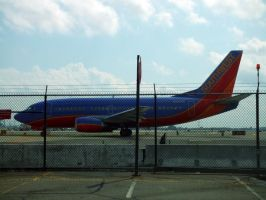 Southwest 737-5H4 on taxiway by PaulRokicki