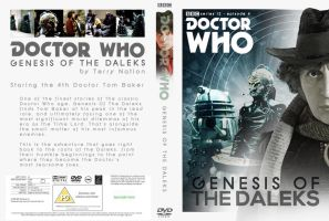Doctor Who Genesis of the Daleks DVD Cover by studiomonroe
