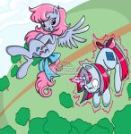 80's My Little Pony - Wind Whistler and Sparkler by Chibi-Warmonger