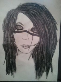 Andy Biersack by dixiedoodles