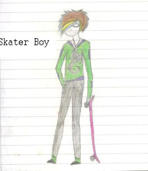 Skater boy by Comical-Fire