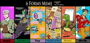 6 Forms meme - Hodges by clickmon