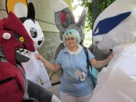 A-Kon 23: Pokemon shoot: Tory and his crew by Inept-Evil-Genius