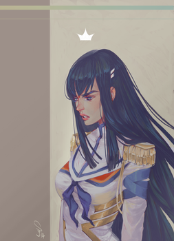Satsuki .The queen. by mior3e