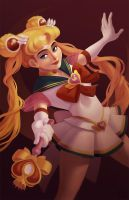 Super Sailor Moon by courtneyuy
