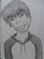 Anime portait (me) by 55thdemongage