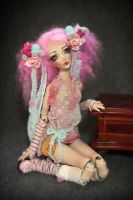 Cotton Candy bjd doll by Forgotten Hearts by FHdolls