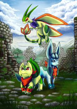 Explorers of Ruins by SpaceSmilodon