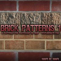Brick Patterns 1 by AscendedArts