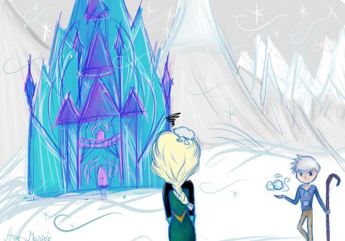 Building the castel by Ane-Mariee