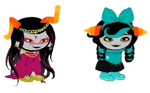 random sprite adopts [PINK REOPENED/PRICE LOWERED] by cthonicsquid