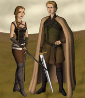 Tristan and Isolde by SingerofIceandFire