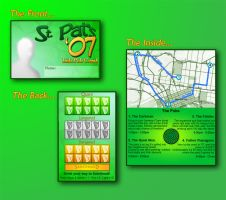 St. Pats 2007 Crawl Card by DustyMcg