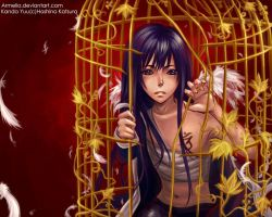 DGM Kanda Yuu_Scattered wings by Armelia