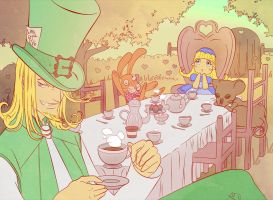 Mad Tea Party by LaDameDePique