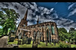 Aston Church HDR by nat1874
