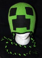Creeper Beanie by rainbowdreamfactory