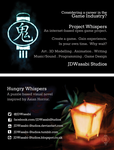 Project Whispers Business Card preview by JDWasabi