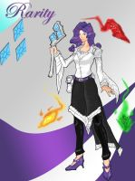 Humanized Rarity RPG Style by ValorNomad